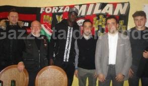 Anche il Milan tifa per la piccola vapriese Gioia Leuci