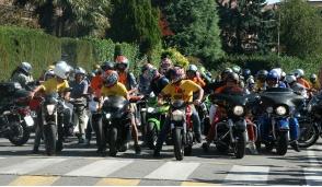 Bellinzago patria dei motociclisti con il cuore grande