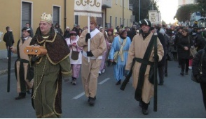Brugherio in corteo con i Re Magi