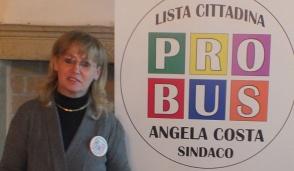 Bussero, è Angela Costa il terzo candidato sindaco