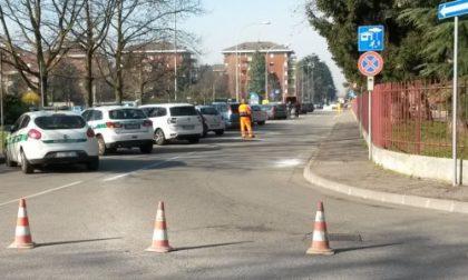 Cassina, code per asfaltature delle ciclabili e per l'inversione di un senso unico