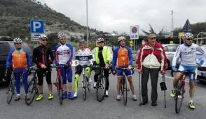 Da Basiano in bici alla Milano -Sanremo