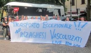 Da Inzago a Modena per il 40esimo di Vasco