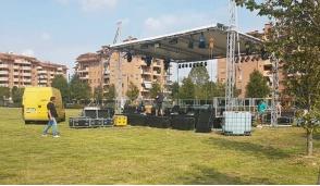 E' tutto pronto per il Festival Park Segrate