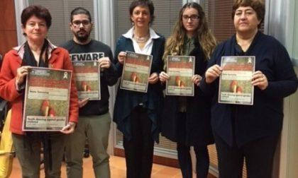 Flash mob a Cernusco contro la violenza sulle donne
