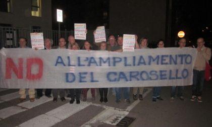 Carugate. Flash mob contro la bocciatura del referendum sul Carosello