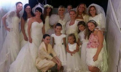 Gorgonzolesi indossano di nuovo l'abito bianco per beneficenza