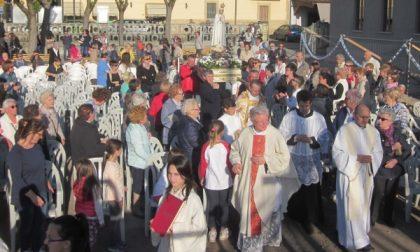 Grande emozione a Cassano per l'arrivo della Madonna di Fatima