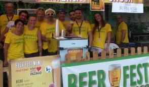 Grazie ai volontari la Beer fest a Inzago è stata un successo
