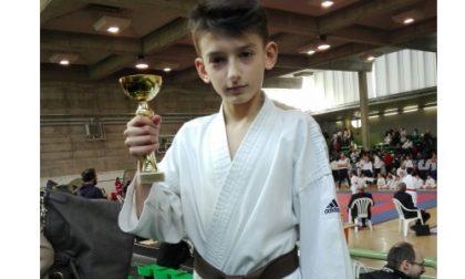 "I baby ""karate kid"" di Cambiago ai Provinciali Csi"