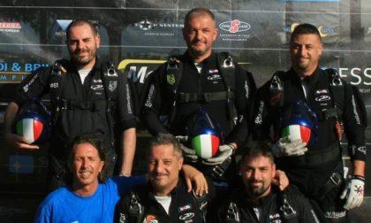 Il rodanese Alghisi è campione nazionale di paracadutismo