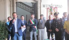Inaugurazione in pompa magna per i restauri al Comune di Inzago