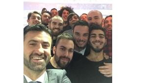 L'Atletico Trezzano è ospite negli studi televisivi di Mediaset