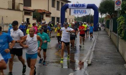 La pioggia non ferma la corsa a Truccazzano