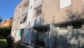 Le case Aler a Inzago cadono  pezzi