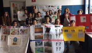 Lezione sui cambiamenti climatici a Cernusco