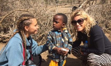 Lisa e Milly da Cologno in Africa per donare sorrisi