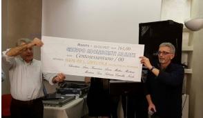 Masate, Insieme per il Centro Italia, raccolti  10.500 euro