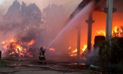 Masate, devastante incendio a Cascina Nuova