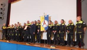 Onori alla Protezione civile di Gessate