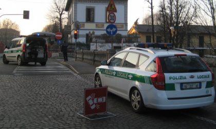 Paura a Cernusco per un incidente in viale Assunta