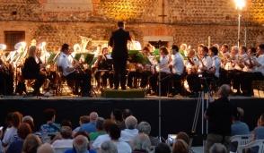 Pienone al concerto della banda di Cassano