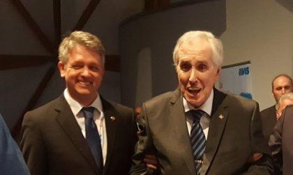 Presidente dell'Avis di Cernusco premiato da Mattarella