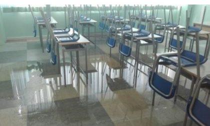 Rodano, dopo il nubifragio la scuola è pronta