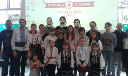 Rumeni in festa a Cassano d'Adda