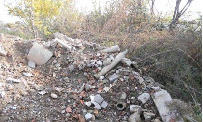 Tonnellate di rifiuti nel cuore del Parco Adda Nord