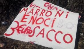 Trezzo: castagne sequestrate, saranno donate ai carmelitani