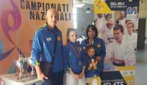 Vittoria tricolore per l'Asd Shokotan Karate Bussero