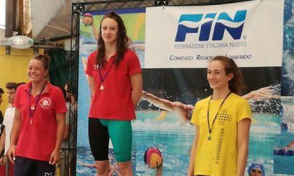 La Team Trezzo sport nuota nell'oro ai Regionali