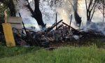 Incendio baracche domenica a San Maurizio