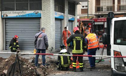 Fuga gas evacuato palazzo di sei piani
