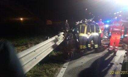 Terribile incidente 34enne miracolato a Pessano FOTO