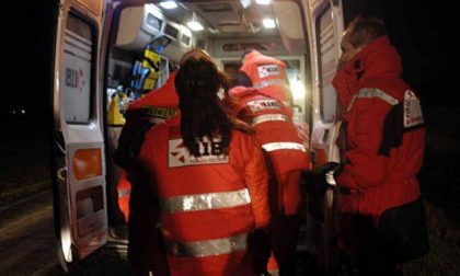 Quattro giovani in ospedale  e un infortunio sul lavoro SIRENE DI NOTTE