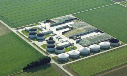 Biogas Masate sit in dei comitati davanti alla sede del Cem