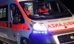 Incidente e soccorsi a infortunati SIRENE DI NOTTE