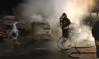 Incendio a Brugherio Ecco le FOTO