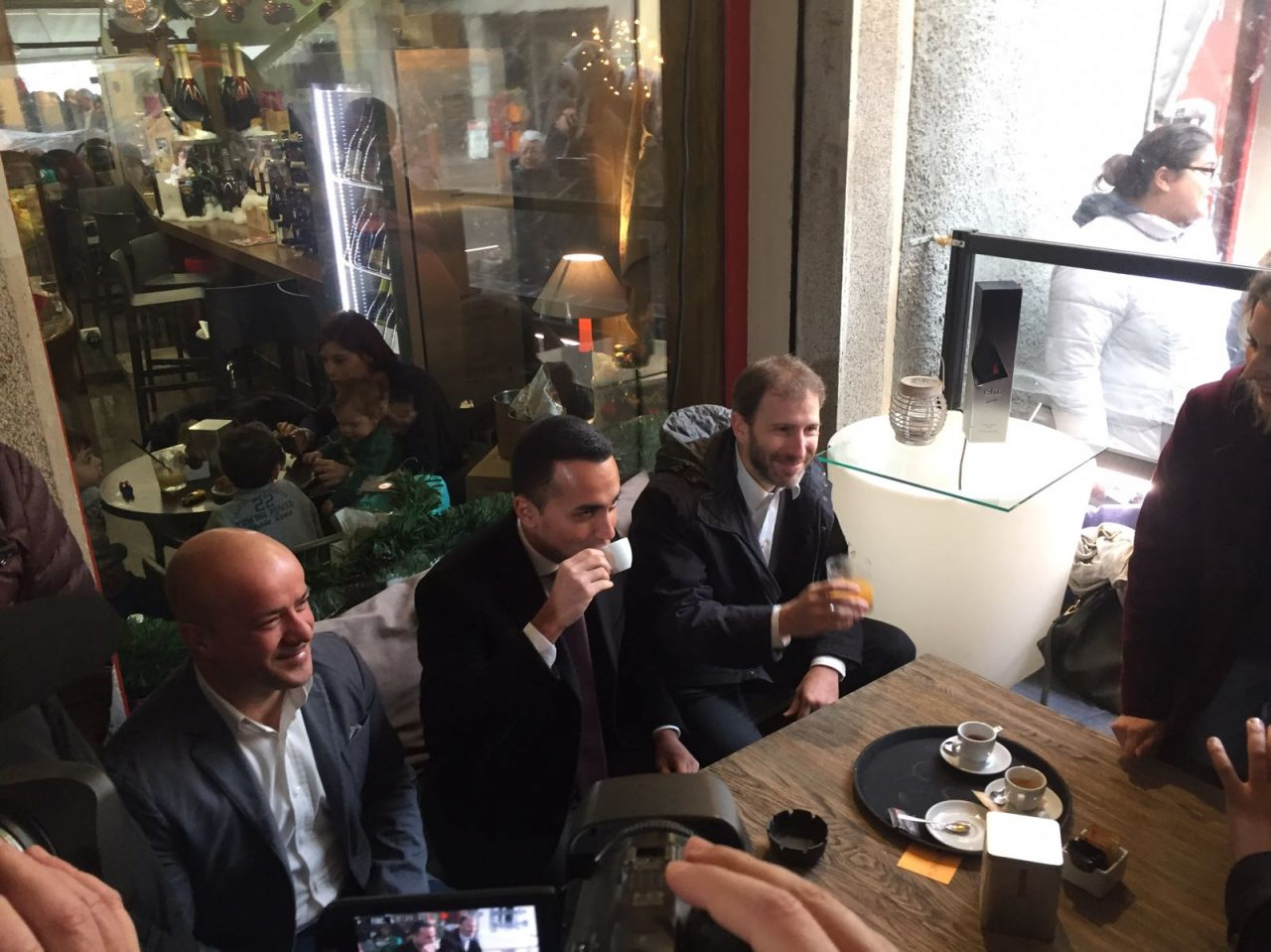 luigi di maio gorgonzola movimento cinque stelle elezioni politiche 2018