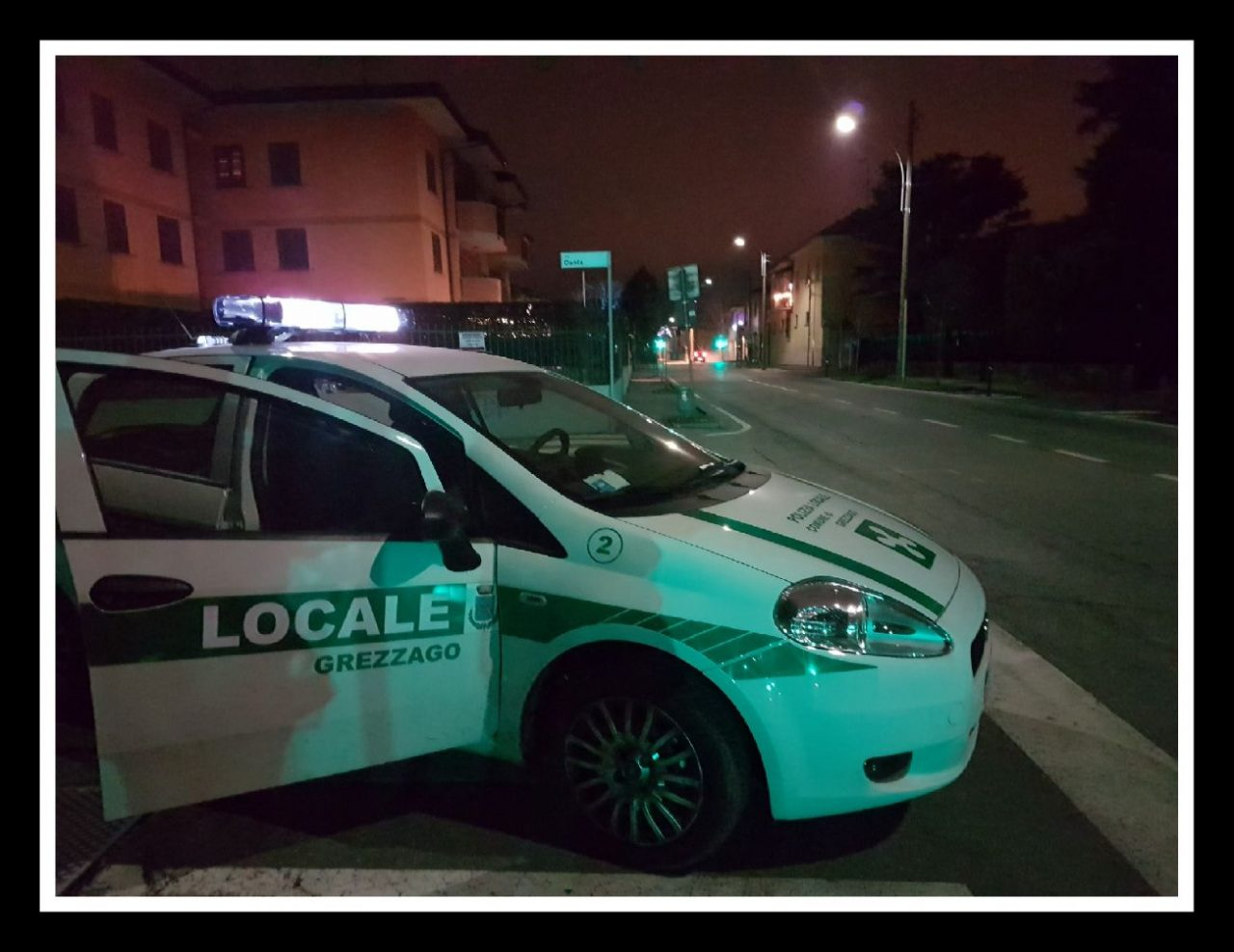 Controlli del territorio polizia locale di grezzago