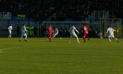Calcio Serie C Arezzo-Giana 4-2