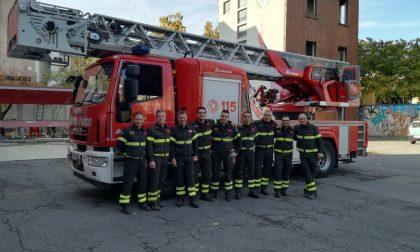 Fratelli bloccati in casa, intervento in alta quota dei pompieri
