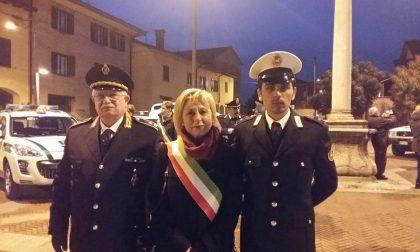 Le Forze dell'ordine di Trezzo benedette a San Sebastiano