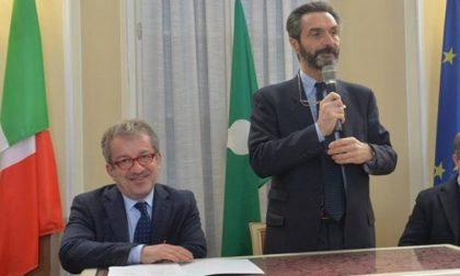 Attilio Fontana prima uscita a Cologno Monzese