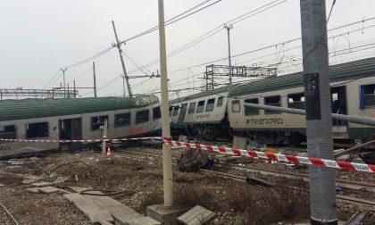 Treno deragliato Finiti i soccorsi FOTO
