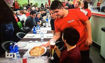 Pizzaut sbarca al Tg1
