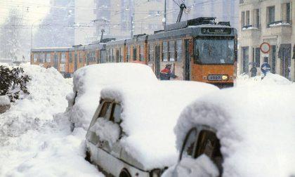 Grande nevicata 33 anni fa l'inferno bianco che bloccò la Martesana