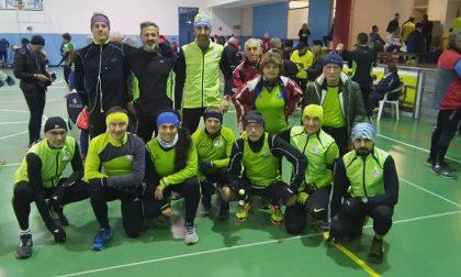 Runners di corsa anche durante le vacanze